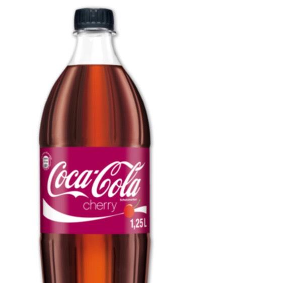 [Offline] Netto 1,25L Cherry und Vanilla Coke mit Zucker!