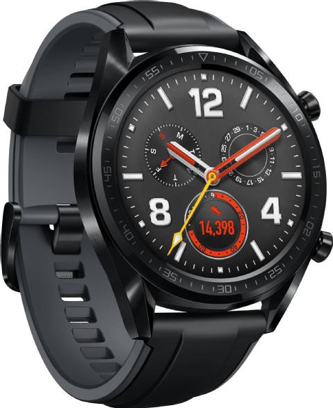 """[eBay+] Huawei Watch GT Sport (1.39"""" Touchscreen, AMOLED, Bluetooth 4.2, NFC, Pulsmesser, Gyroskop, Kompass, Barometer, GPS, ~2 Wochen Akku)"""