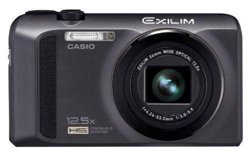 Casio Exilim EX-ZR100 Digitalkamera (12 Megapixel, 12,5-fach opt. Zoom, schwarz) für 133 EUR