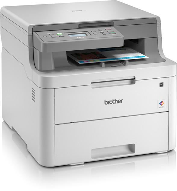 Drucker von Brother: z.B. Multifunktions-Farblaser Brother DCP-L3510CDW (Drucker/Scanner/Kopierer, 18/18 S/min, Duplexdruck, WLAN, USB 2.0)