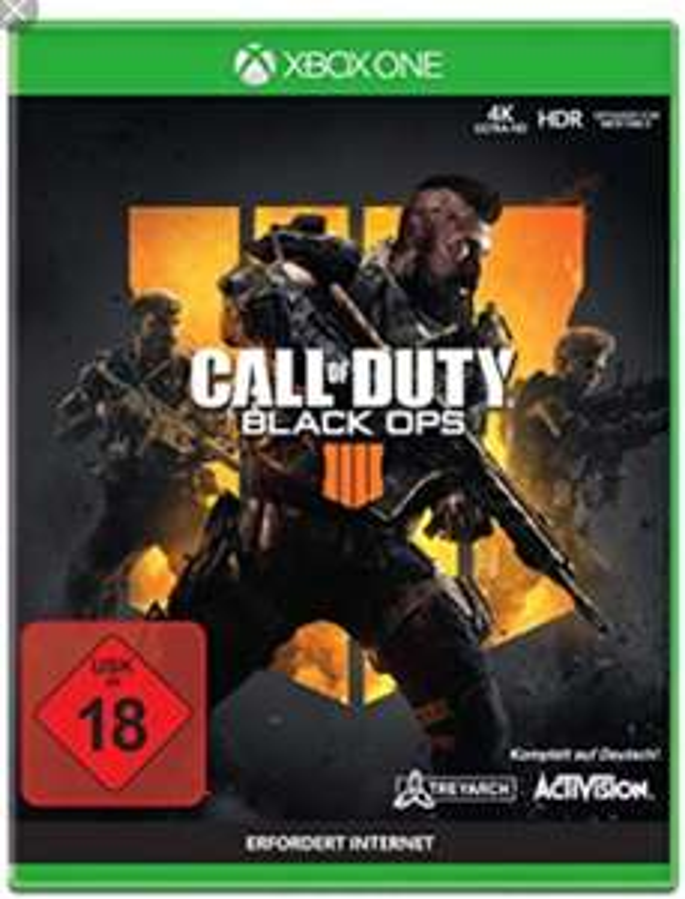 Call of Duty: Black Ops 4 (Xbox One) Amazon.de für 16,97€ bzw. für 16,63€ bei Amazon.fr