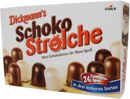 Dickmann´s Schoko Strolche, 24 Stück, für nur 1,29 Euro / Lorenz Crunchips oder Erdnuß Locken für je 88 Cent  [Globus SB-Warenhaus]