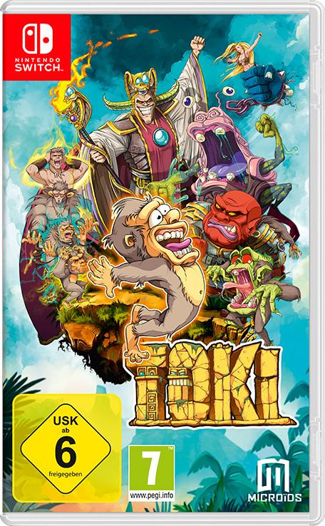 Toki (Switch) für 13,99€ oder für 9,32€ Mexiko (eShop)