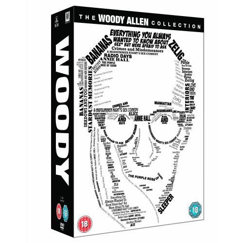 [wieder da] Woody Allen Collection Box-Set - DVD-Box mit 20 Filmen @ amazon.uk -40%