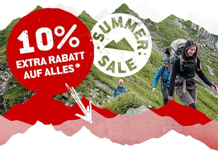 Bergfreunde 10% auf fast alles, auch auf Sale