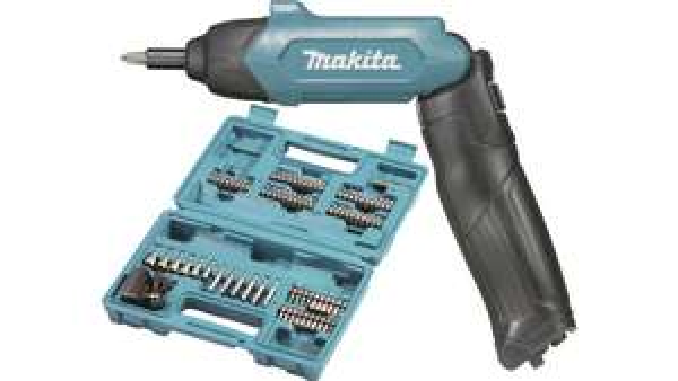 Makita DF001DW Akku-Stabschrauber 3.6V 1.5Ah Li-Ion inkl. Zubehör im Koffer für 28,94€ [digitalo]
