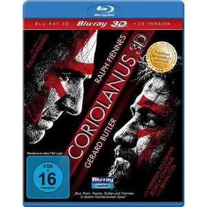 Coriolanus 3D (3D Version inkl. 2D Version & Bonus-DVD) [Blu-ray 3D]