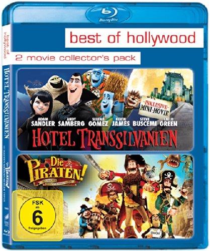 Hotel Transsilvanien & Die Piraten - Ein Haufen merkwürdiger Typen 2 Movie Collector's Pack (2 Disc Blu-ray) für 5,70€ (Amazon Prime)