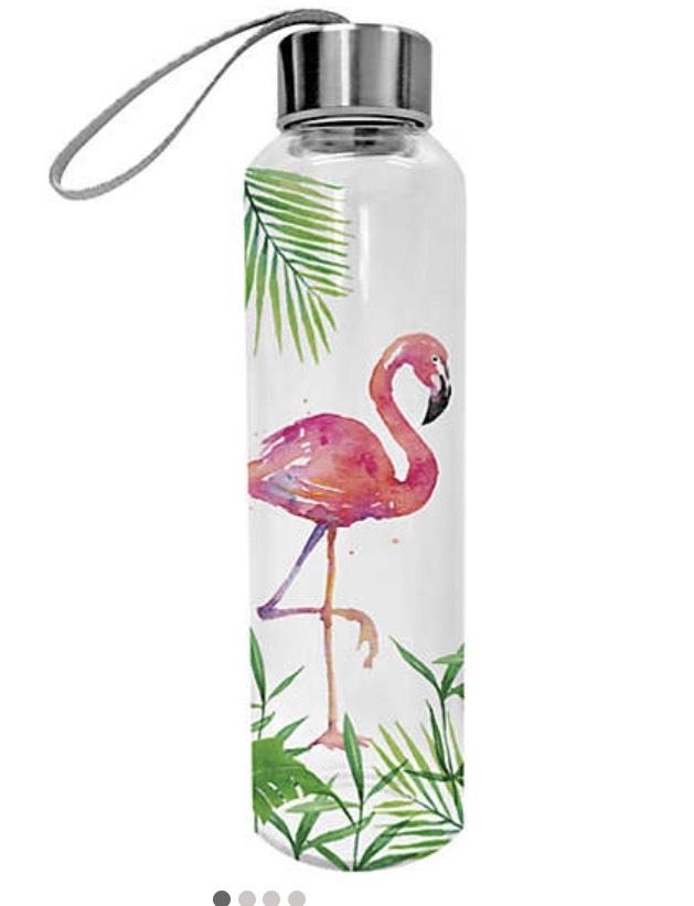 Glas-Trinkflasche in vielen Designs