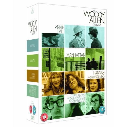 und nochmal Woody Allen: Best of Box / 4 Filme @ amazon.uk -49%