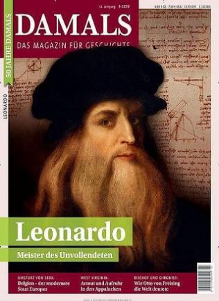 Geschichtemagazin Damals Abo (14 Ausgaben) für 102,66 € mit 105,00 € BestChoice Universalgutschein