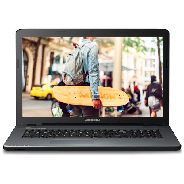 "MEDION AKOYA P7653 Notebook Core i5-8250U, Windows 10 Home, 43,9 cm (17,3"") FHD Display, GeForce MX130, 128 GB SSD, 1,5 TB HDD, 8 GB RAM"