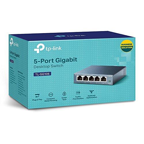 TP-Link TL-SG105 5-Port Gigabit Netzwerk Switch