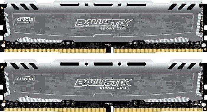 Ballistix Sport LT  32GB (16GB x2)  3200mhz CL16 Speicher Kit - Für Ryzen Upgrader