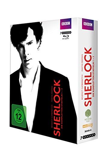 (Prime) Sherlock - Staffel 1-3 [Blu-ray]