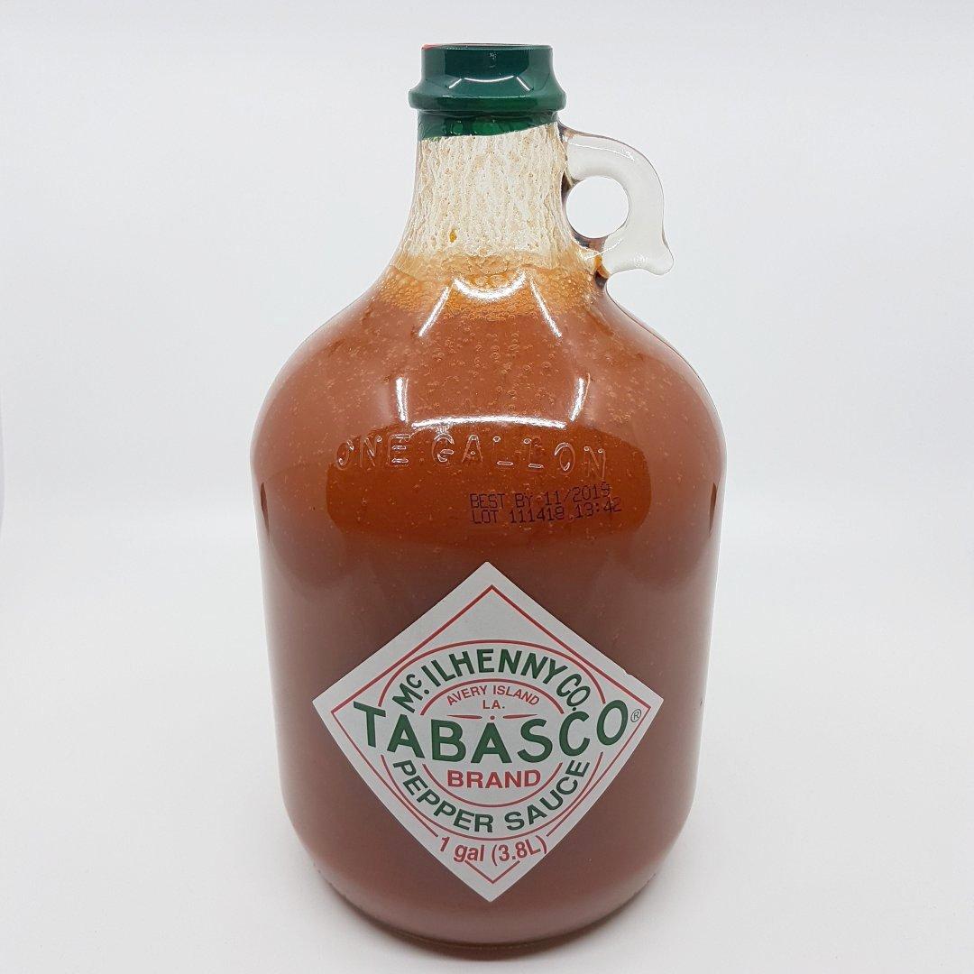 Für all die, die es gerne schärfer haben! 3780ml Tabasco