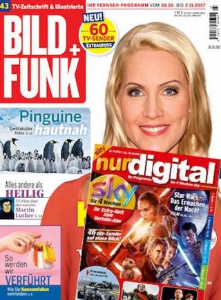 """Bild und Funk Digital + """"nur digital"""" (PayTV Sender wie Sky) Abo (52 Ausgaben) für 125 € + 120 € BestChoice Gutschein (Kein Werber nötig)"""
