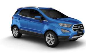[Privatleasing] Ford EcoSport 1,0 EcoBoost (100 PS) Trend - Mit Umweltprämie mtl. 97.92€ (brutto), 24 Monate, 10.000 km, LF 0,52