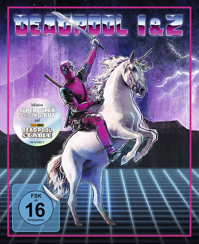 Deadpool 1+2 Ultimate Unicorn Edition (Blu-ray) für 29€ versandkostenfrei (Media Markt)