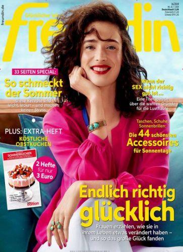 """1 Jahr lang Zeitschrift """"Freundin"""" - kostenlos und selbstkündigend"""
