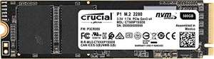 [Amazon] CRUCIAL P1, 500 GB SSD, intern 3D NAND, NVMe, PCIe, M.2