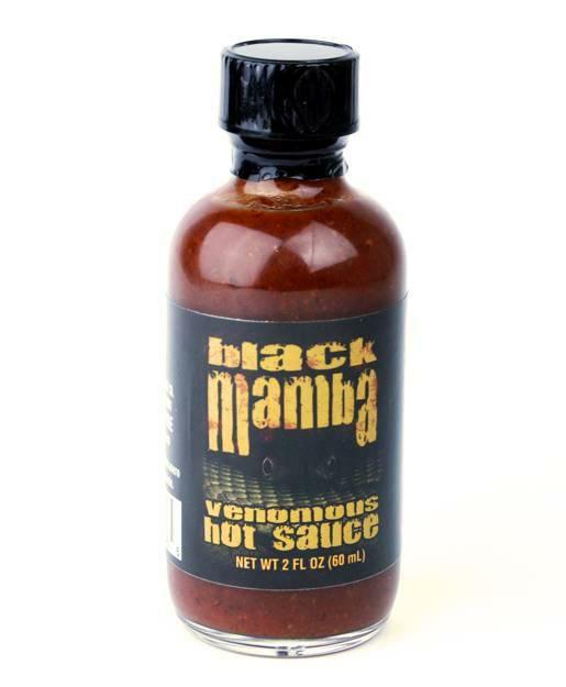 Für alle die es gerne SCHÄRFER mögen - CaJohns Black Mamba Sauce