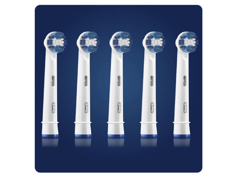 10 Stück Oral B Ersatzzahnbürsten Precision Clean oder 8 Stück Crossaction 3+1 oralb