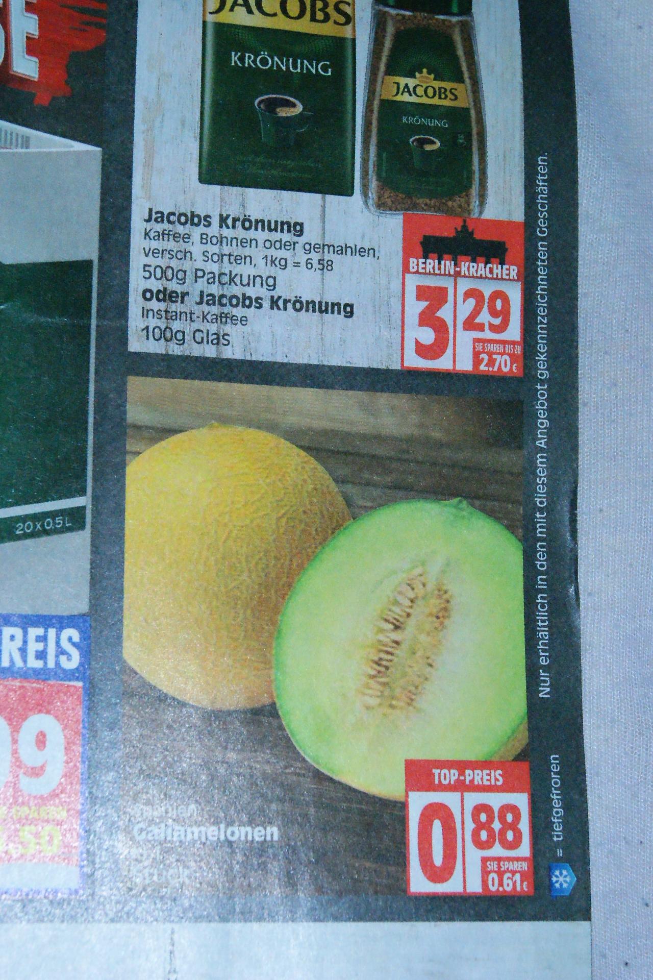 Galia Melonen für 88 Cent bei Edeka ab 22.7.