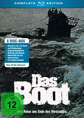 Das Boot - Complete Edition (Blu-ray + CD + Hörbuch 8 Discs) für 20,70€ (Amazon)