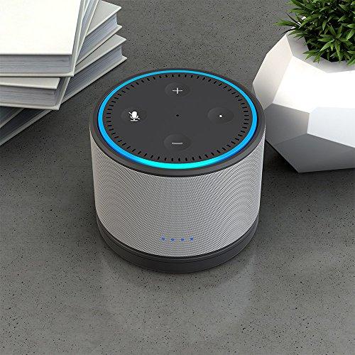 [Amazon Prime] Ninety7 DOX Mobile Ladestation Grau passend für Amazon Echo Dot 2. Generation