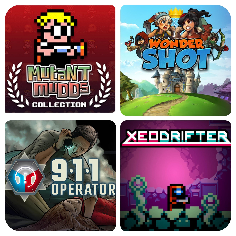 Diverse Nintendo Switch eShop Spiele für max. 1,05 €