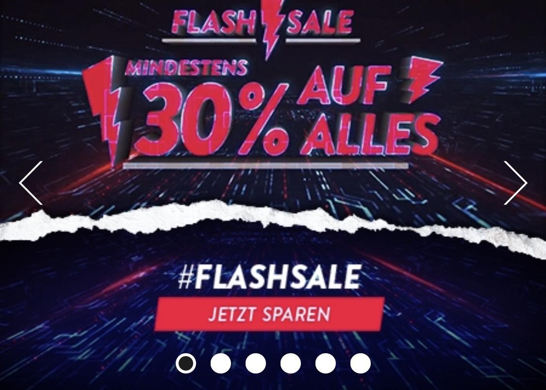 Flashsale 30% auf ALLES! Bundesliga Trikots ab 59,47€ (Erwachsenen Größe)