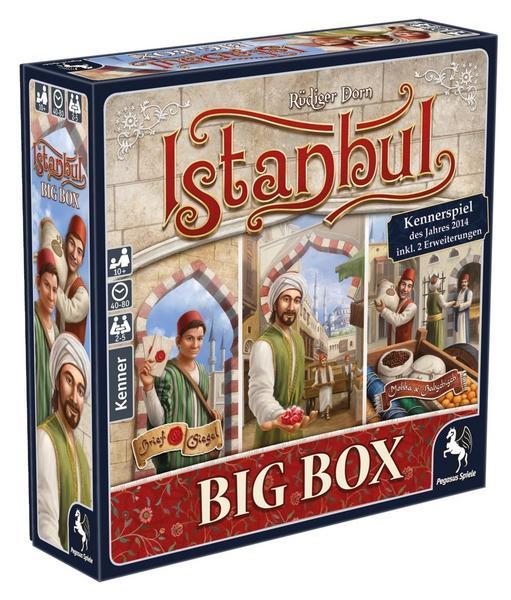 Istanbul Big Box Brettspiel   Kennerspiel des Jahres 2014
