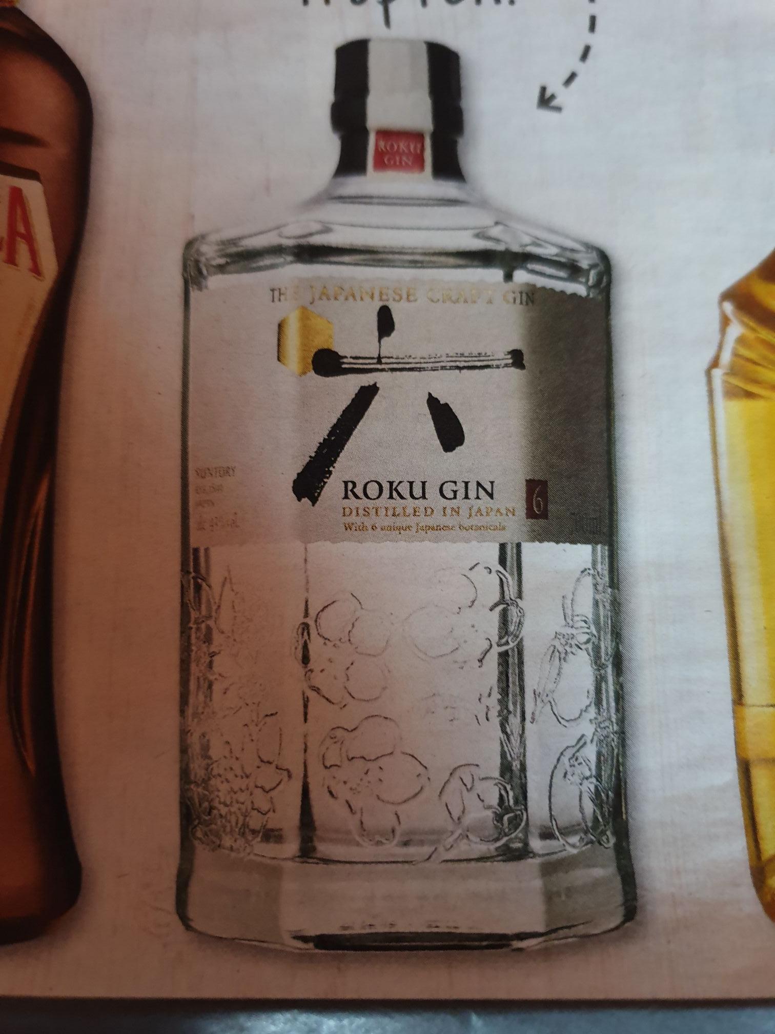 (Marktkauf) Roku Japanischer Gin 0,7l für 19,99€