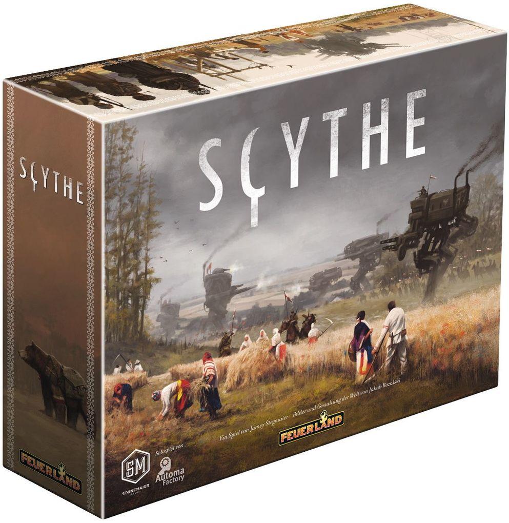 Scythe Brettspiel Feuerland Spiele | mit 15% Sovendus Gutschein | BGG 8.3