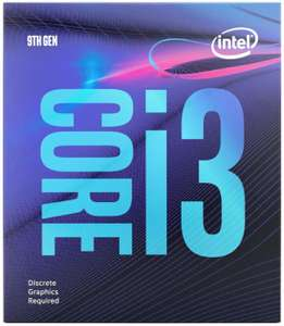Intel Core i3-9100F Prozessor - 3.6-4.2Ghz, Kerne 4 (Amazon.fr)