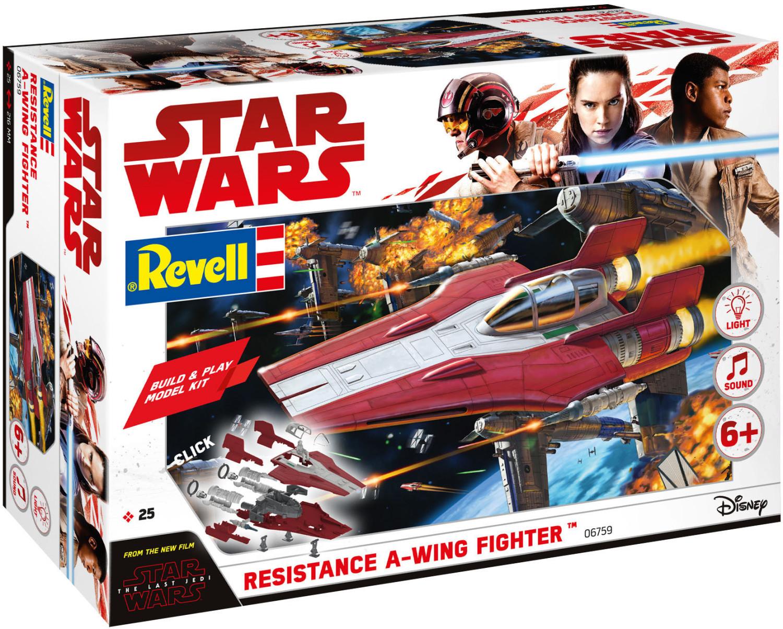Revell Build & Play - Star Wars Resistance A-wing Fighter Bausatz (06759) für 6,99€ versandkostenfrei (Saturn)