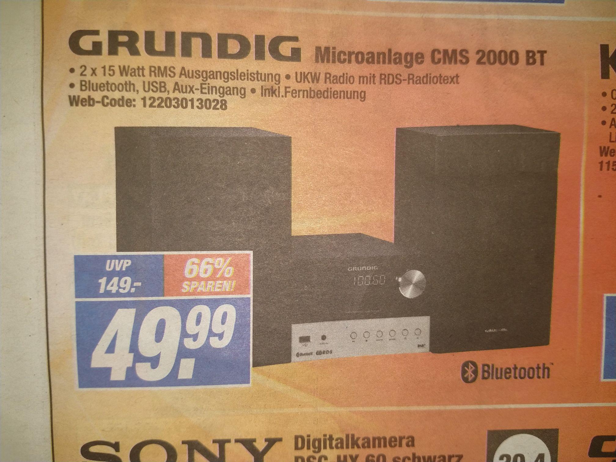 Grundig Microanlage CMS 2000 BT (Expert, Lokal)