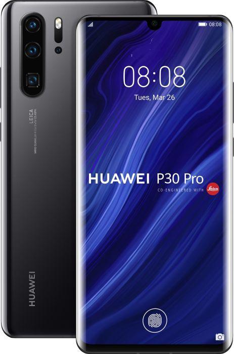 Huawei P30 Pro (VOG-L29) - 128GB - Black - Leica quad camera Neu /OVP