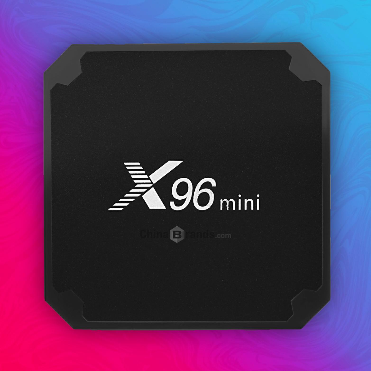 Vontar X96 Mini: TV Box - 16GB Speicher / 2GB RAM - Amlogic S905W - 4K/H.265 - Mali-450 Grafik