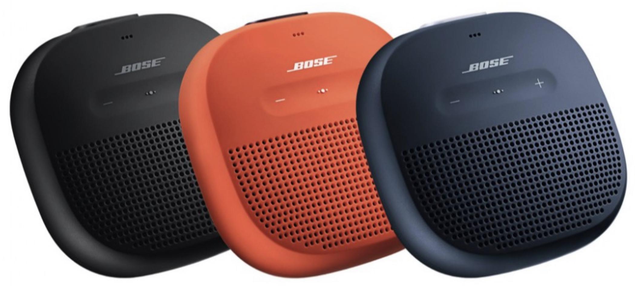 Bose SoundLink Micro schwarz, blau o. orange für je 69€ inkl. Versandkosten [Saturn/Amazon]