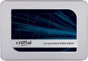 "Crucial MX500 1TB SSD (2,5"", 3D-NAND TLC, R:560MB/s, W:510MB/s) für 91,84€ [Amazon UK]"