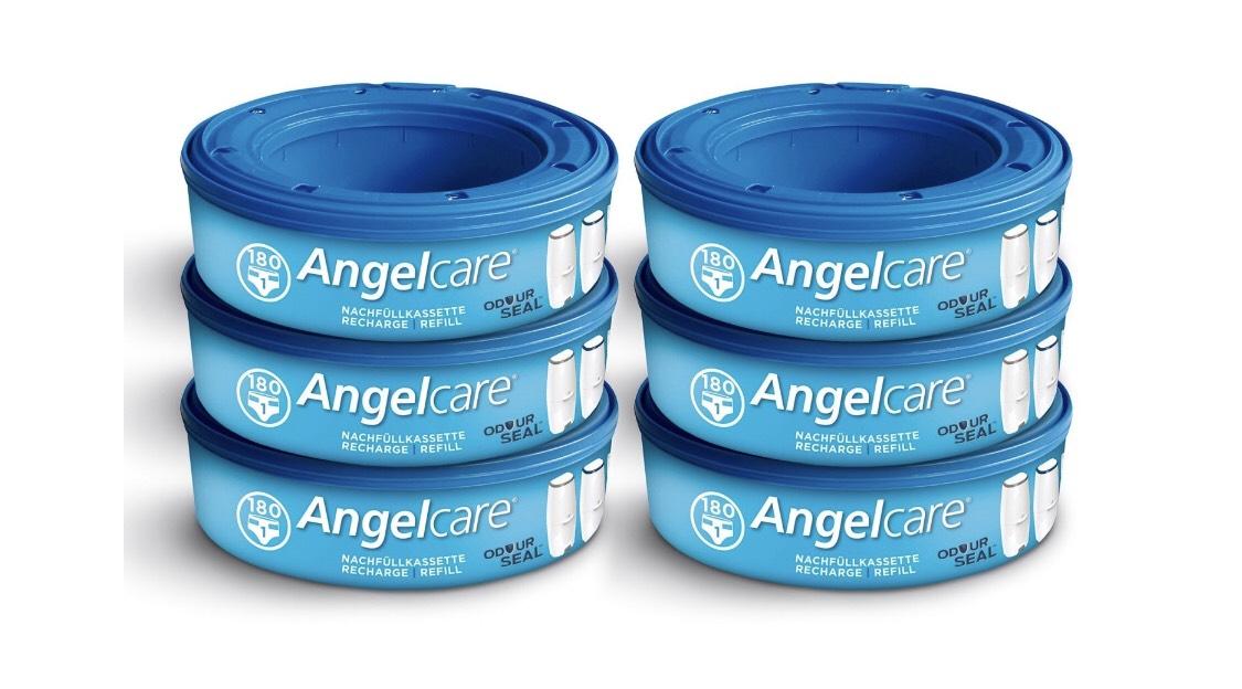 [rakuten.de/Masterpass] Angelcare Nachfüllkassetten Plus (6 Stück)