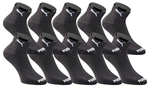 Puma Quarters Socken Sportsocken - versch. Farben und Größen [Amazon Prime]