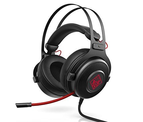 HP OMEN 800 (1KF76AA) Gaming Headset (kabelgebunden, Kopfhöreraufhängung, klappbares Mikrofon) schwarz [Amazon & Alternate]