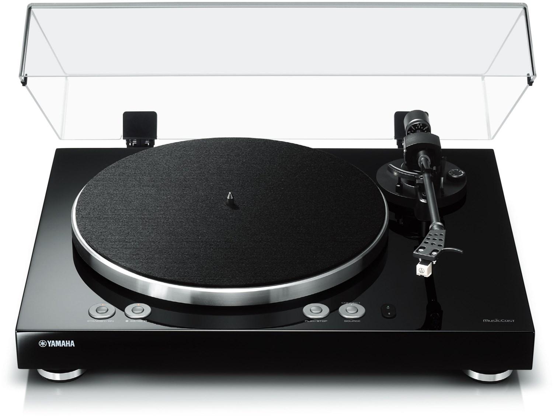 Yamaha MusicCast VINYL 500 schwarz WLAN Streaming über AirPlay und Bluetooth