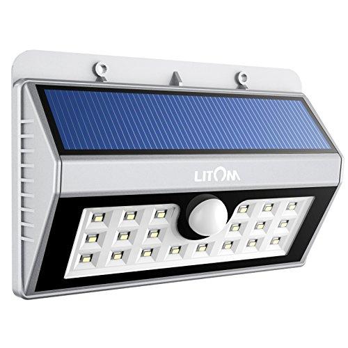 (Prime) LITOM von Mpow - LED Außenleuchte (Solar)