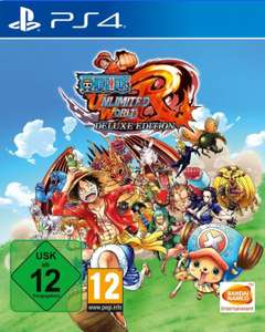 One Piece: Unlimited World Red Deluxe Edition (PS4) für 16€ (Amazon Prime & GameStop)