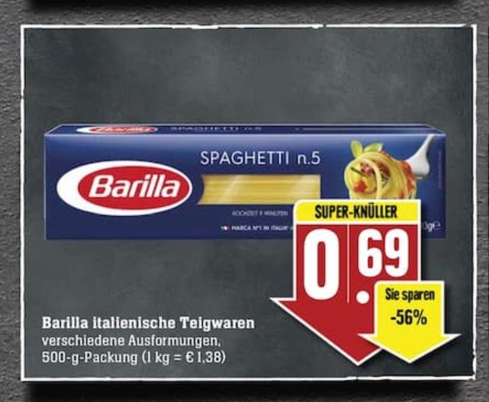 Barilla italienische Teigwaren 500gr (Edeka Südwest)