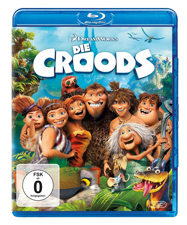 Die Croods (Blu-ray) für 4€ versandkostenfrei (Media Markt & Amazon Prime)